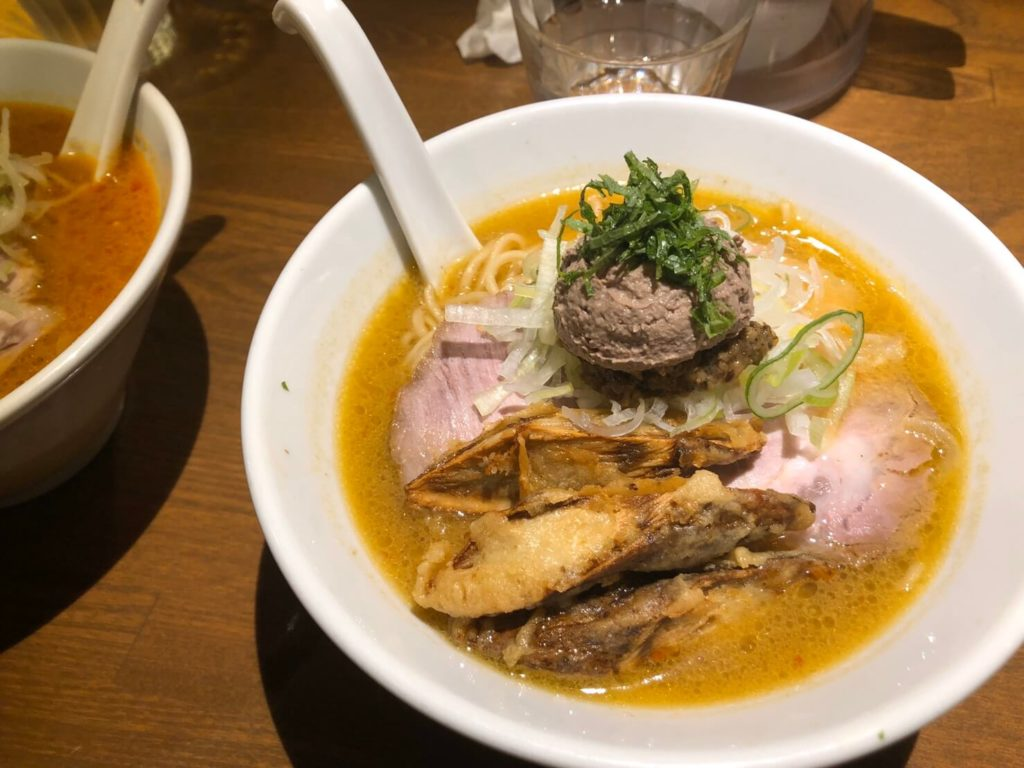 the-photo-of-amehayasashiku-miso-ramen